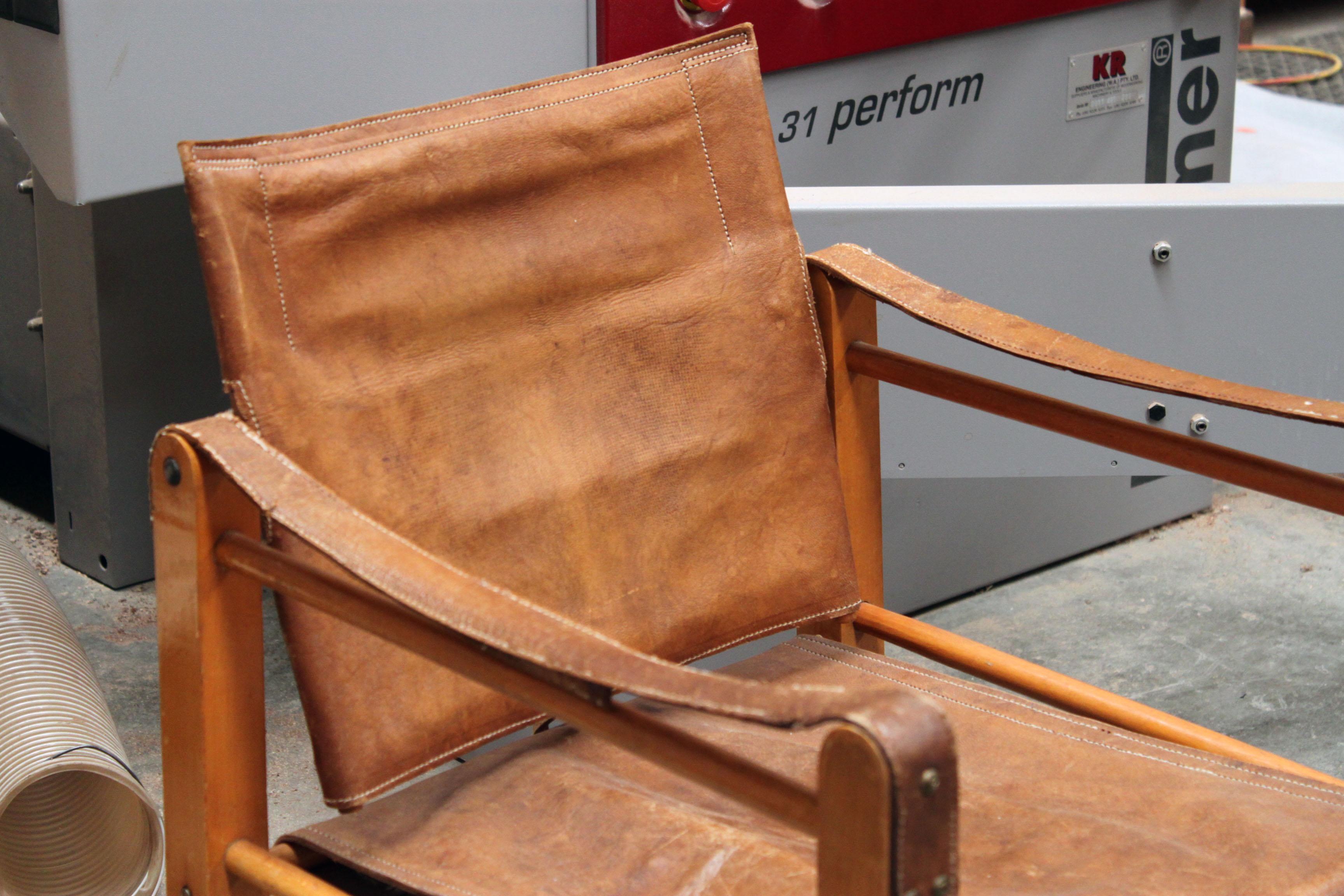Take A Seat On An Original Vintage Safari Chair!